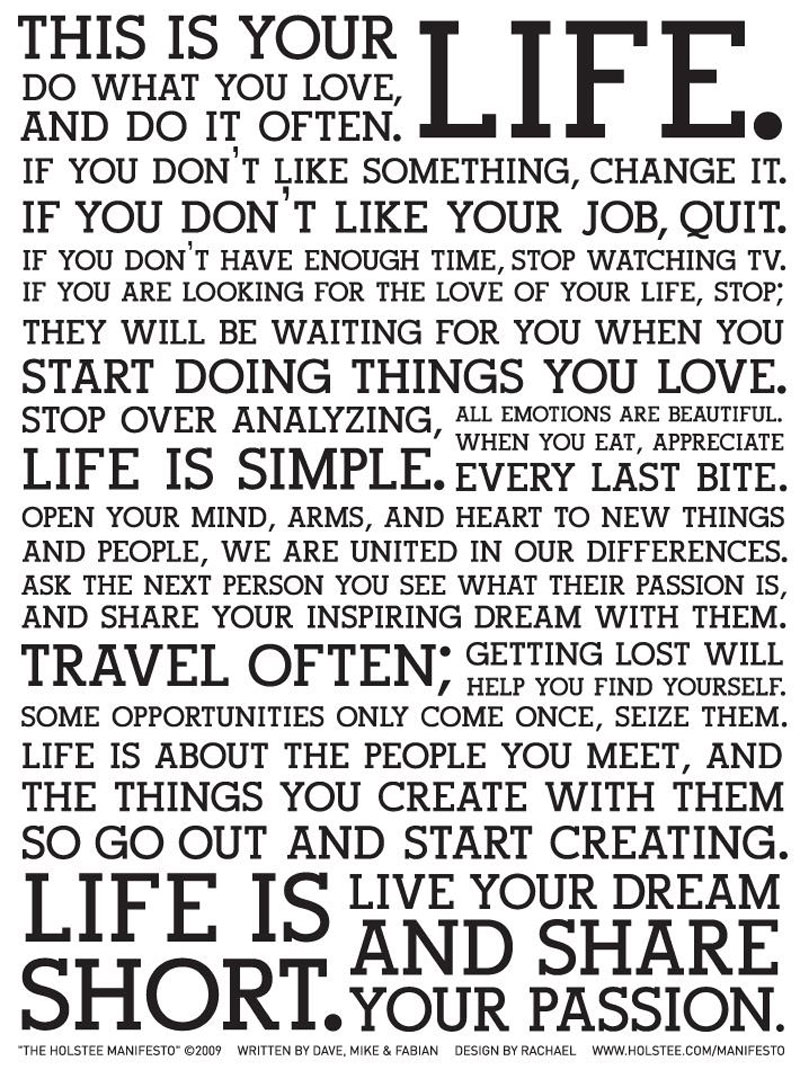 This Is Your Life Quote This Is Your Life